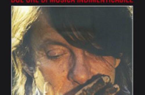"""Poster del film """"Faber in Sardegna & L'ultimo concerto di Fabrizio De André"""""""