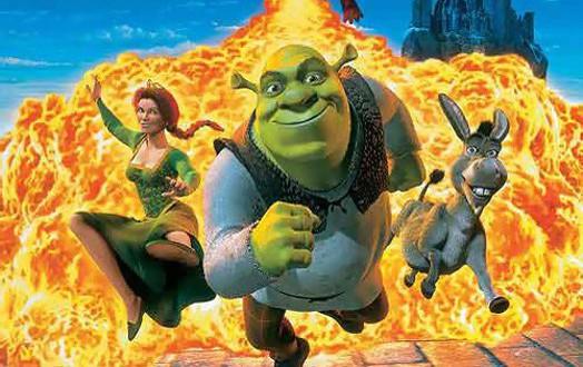 """Poster del film """"Shrek"""""""