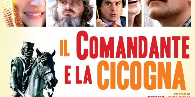 """Poster del film """"Il comandante e la cicogna"""""""