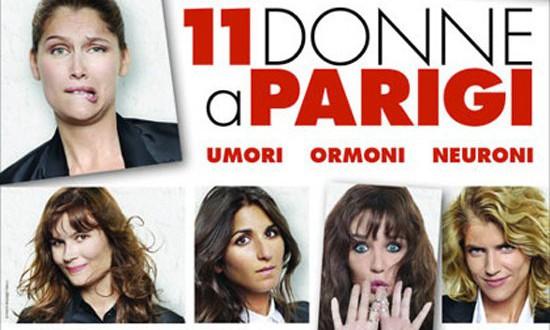 "Poster for the movie ""11 donne a Parigi"""