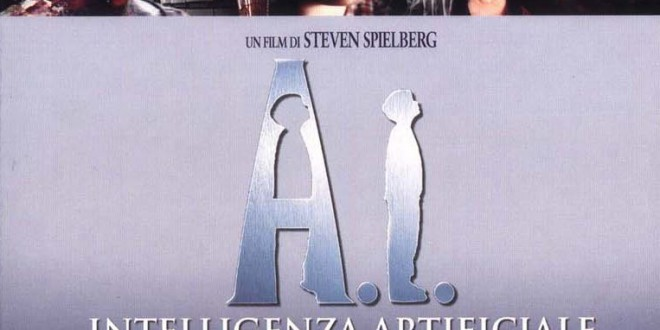 "Poster for the movie ""A.I. Intelligenza Artificiale"""