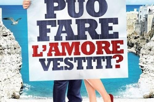 """Poster del film """"Si può fare l'amore vestiti?"""""""