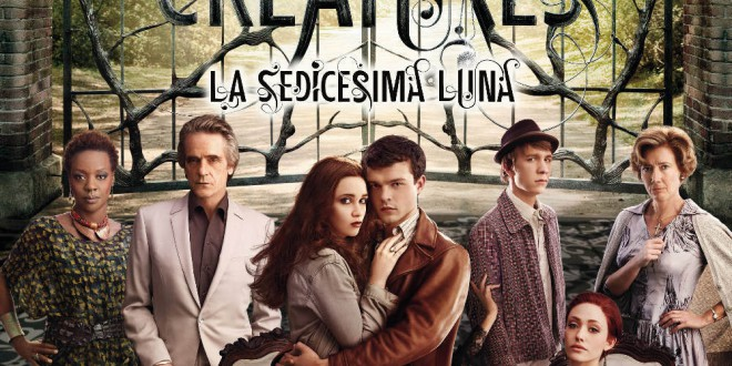 "Poster for the movie ""Beautiful Creatures - La sedicesima luna"""