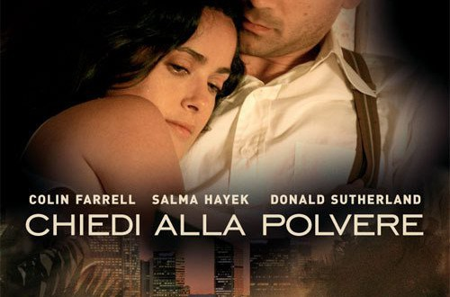 "Poster for the movie ""Chiedi alla polvere"""
