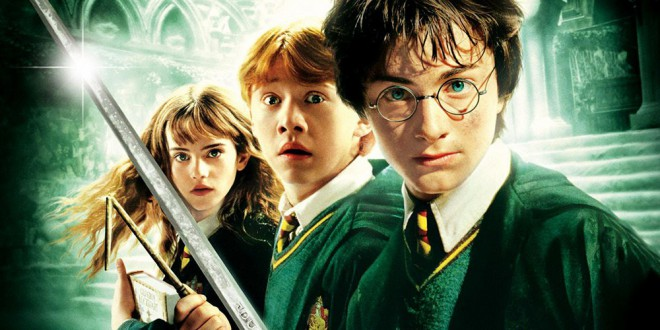 "Poster del film ""Harry Potter e la camera dei segreti"""