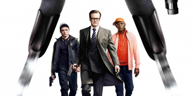 "Poster del film ""Kingsman: Secret Service"""