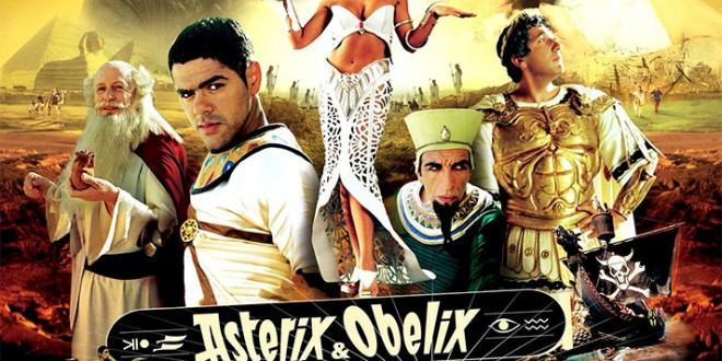 "Poster for the movie ""Asterix & Obelix - Missione Cleopatra"""