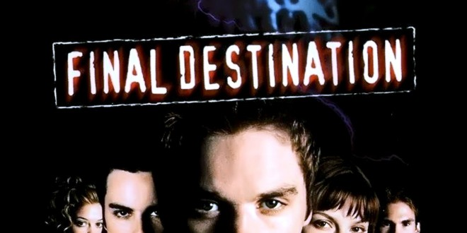 "Poster del film ""Final Destination"""