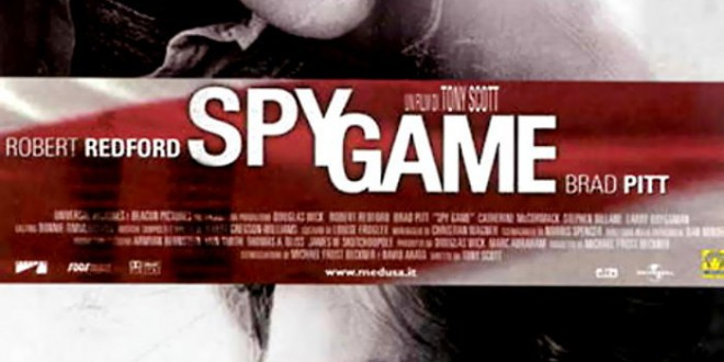 "Poster del film ""Spy Game"""