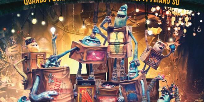 """Poster for the movie """"Boxtrolls - Le scatole magiche"""""""