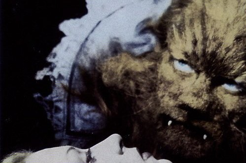 "Poster del film ""La bella e la bestia"""