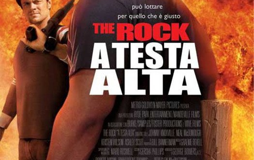 """Poster for the movie """"A testa alta"""""""