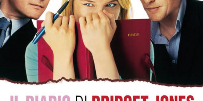 "Poster del film ""Il diario di Bridget Jones"""