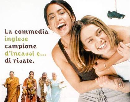"Poster del film ""Sognando Beckham"""