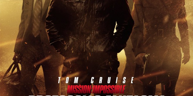 "Poster del film ""Mission: Impossible - Protocollo fantasma"""
