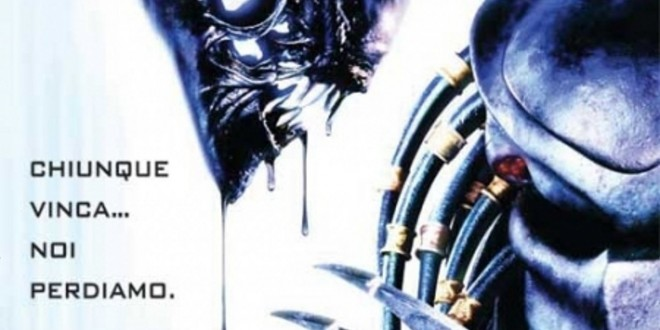 "Poster for the movie ""Alien vs. Predator"""