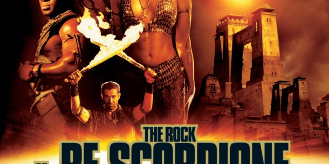"Poster del film ""Il re scorpione"""
