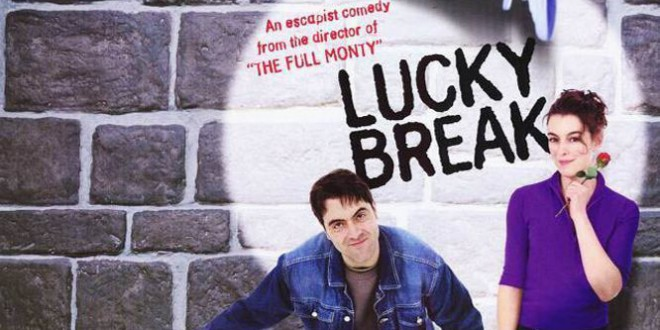 "Poster del film ""Lucky Break"""