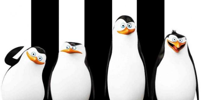 "Poster del film ""I pinguini di Madagascar"""