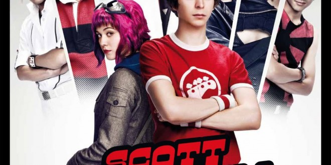 "Poster del film ""Scott Pilgrim vs. the World"""