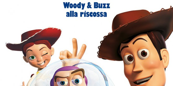 "Poster del film ""Toy Story 2 - Woody & Buzz alla riscossa"""
