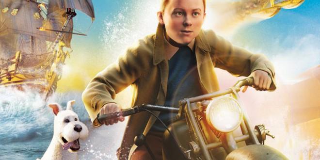 """Poster del film """"Le avventure di Tintin - Il segreto dell'unicorno"""""""