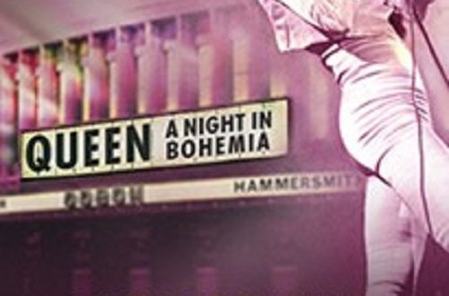 "Poster del film ""Queen: A Night in Bohemia"""