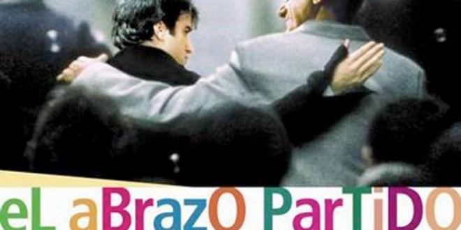"""Poster del film """"El abrazo partido: L'abbraccio perduto"""""""