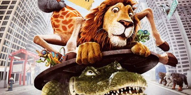 "Poster del film ""Uno zoo in fuga"""