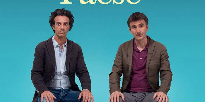 "Poster for the movie ""Andiamo a quel paese"""