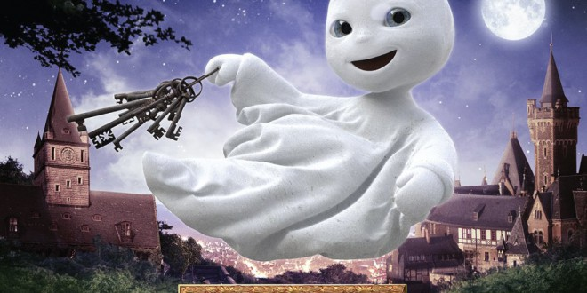 "Poster del film ""Un fantasma per amico"""
