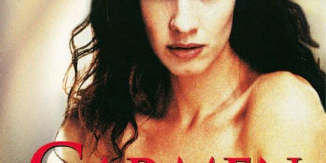 """Poster del film """"Per amare Carmen"""""""