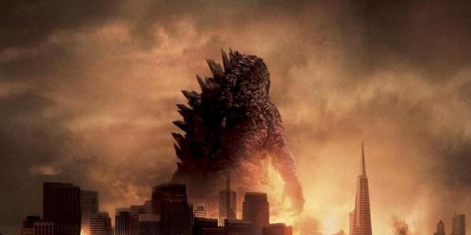 "Poster del film ""Godzilla"""