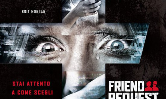 "Poster del film ""Friend Request - La morte ha il tuo profilo"""