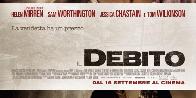 """Poster del film """"Il debito"""""""