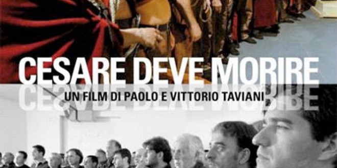 """Poster for the movie """"Cesare deve morire"""""""