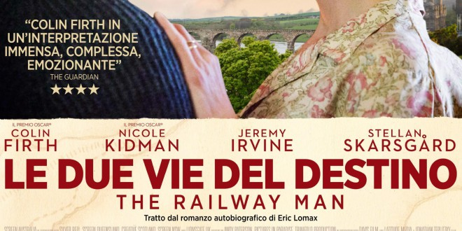 "Poster del film ""Le due vie del destino - The Railway Man"""