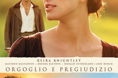 """Poster del film """"Orgoglio e pregiudizio"""""""