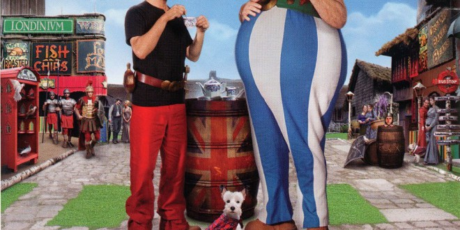 "Poster for the movie ""Asterix & Obelix al servizio di sua Maestà"""