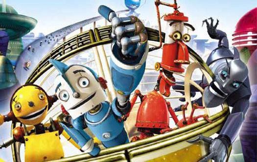 """Poster del film """"Robots"""""""