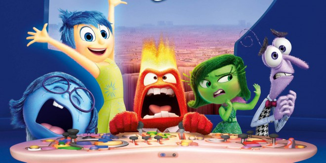 "Poster del film ""Inside Out"""