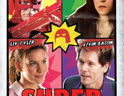 "Poster del film ""SUPER - Attento Crimine"""