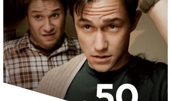 "Poster for the movie ""50 e 50"""