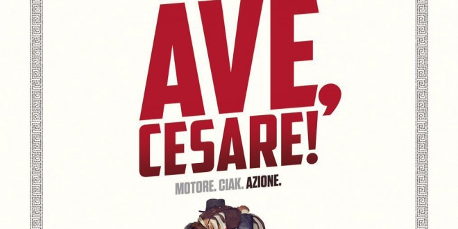 "Poster for the movie ""Ave, Cesare!"""