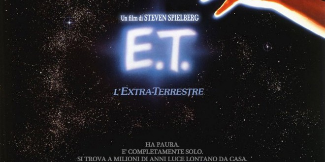 """Poster del film """"E.T. - L'extra-terrestre"""""""