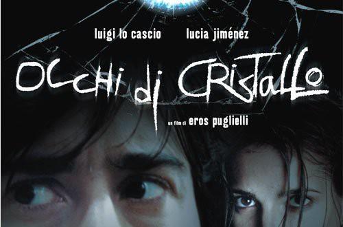 """Poster del film """"Occhi di cristallo"""""""