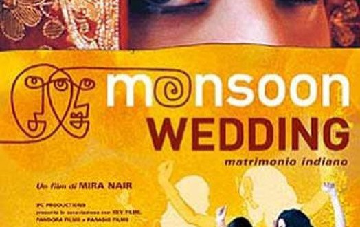 "Poster del film ""Monsoon Wedding - Matrimonio indiano"""