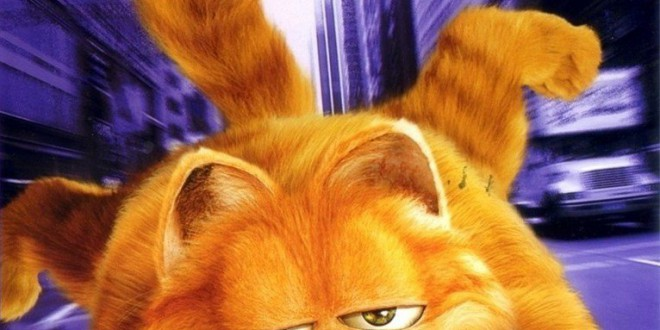 "Poster del film ""Garfield: il film"""