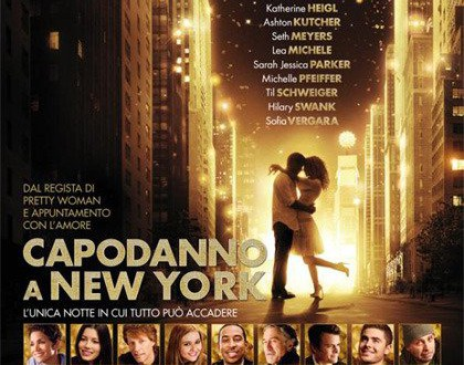 "Poster for the movie ""Capodanno a New York"""
