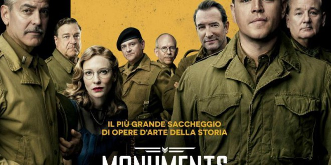 "Poster del film ""Monuments Men"""